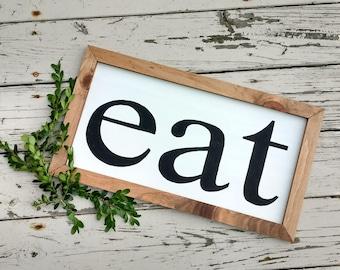 Eat Wall Art eat wall art | etsy