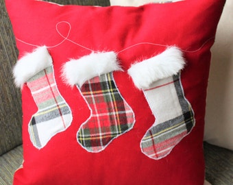 Stocking Christmas Pillow Cover