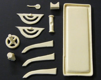 1:25 scale model funeral mortuary embalming table kit