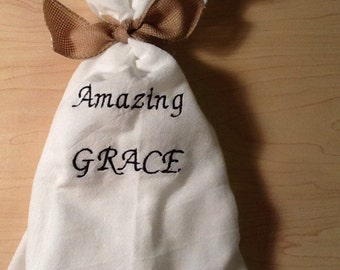 Amazing Grace Hymn Towel