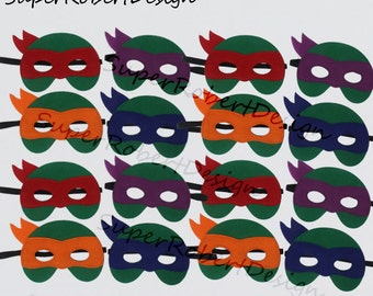 how to make a tmnt mask