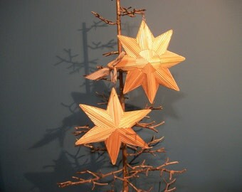 Bamboo Star Ornaments