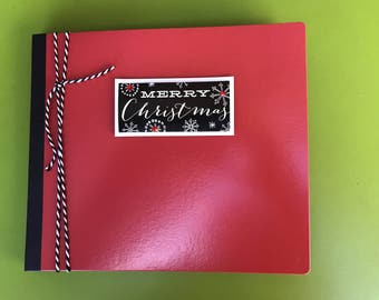 Christmas Scrapbook Photo Album