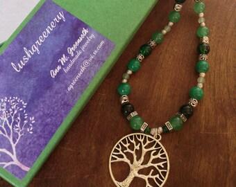 Garden Tree 20-inch Necklace