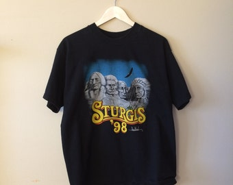 Vintage 98' Sturgis Motorcycle Rally T-Shirt