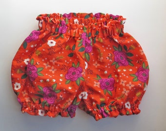 Floral Double Gauze Infant/Toddler Bloomers