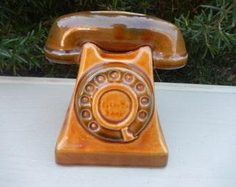 Telephone Money Box, Joseph Szeiler 1960's Collector's Piece Vintage Telephone Bank, German Piggy Bank, Money Box, Home and Living