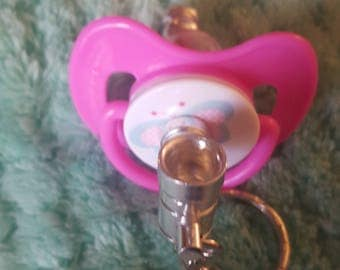 Flutterby Butterfly Paci Pipe