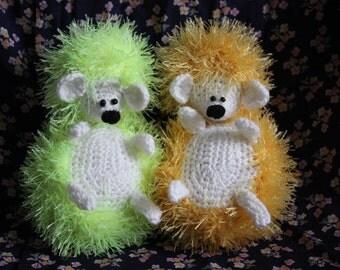 Colourful hedgehogs. Amigurumi love Creative plushies. Crochet Hedgehog, Miniature Hedgehog, Amigurumi Hedgehog Häkeln Igel Crochet Hérisson