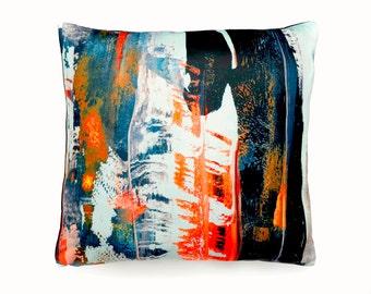 Decorative pillow, cushion cover, abstract art print, throw pillow, home accessories, pillow cover, modern art fabric, home decor pillow