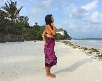African Beach Sarong - Beach Blanket - Beach dresses - Pareo - Beach Towel - Coverups - Tribal Clothing - Headwraps - Leso