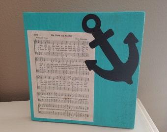 Hymnal Art - Anchor Home Decor