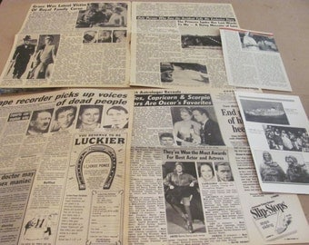 PRINCESS GRACE KELLY  clippings   #1114