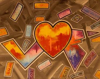 LOVE Colors 14x18