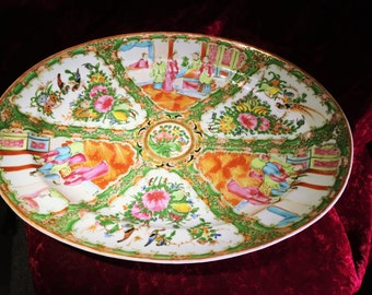 Antique Chinese serving platter
