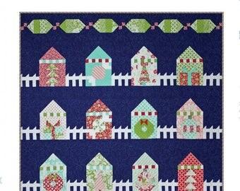 Christmas Lane Quilt Pattern