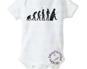 Evolution Star Wars Inspired shirt/onesie