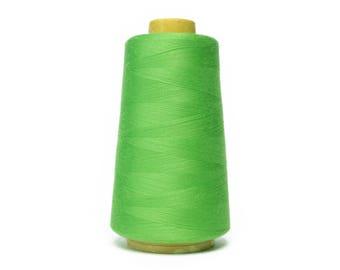 1 roll Overlocknähgarn color light green 3000 yard