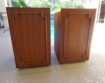 Rare Vintage Wharfedale Anchromatic ,Variflex W80A Pair of Speakers