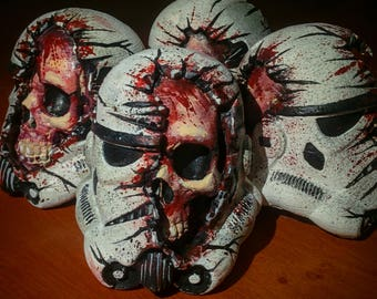 Dead Stormtrooper Head