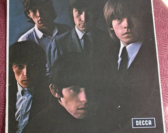 Rolling Stones number 2 first pressing label variation red Decca ear label LP Mono UK second Rolling Stones
