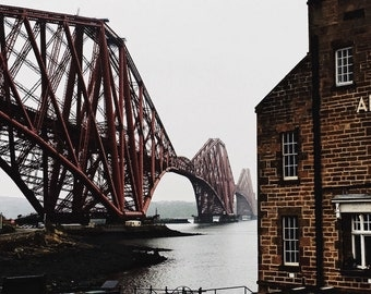 Forth Bridge, Scotland, Scottish Photography, Wall Art, Scotland Prints