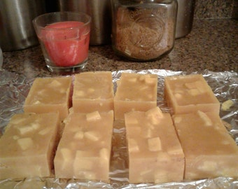 Large Caramel Pumpkin with Shea Butter Organic Soap