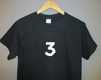Chance the Rapper T-Shirt 3 tee three t Raps Coloring Book 10 day acid rap Chano Dropout Future Drake Kanye West