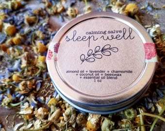 sleep well || calming salve
