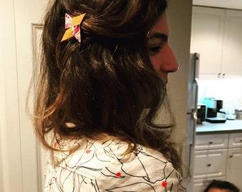 Ninja star hair clip