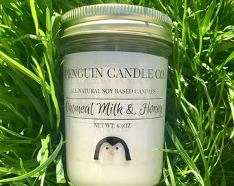 Oatmeal Milk & Honey 8oz. Soy Candle