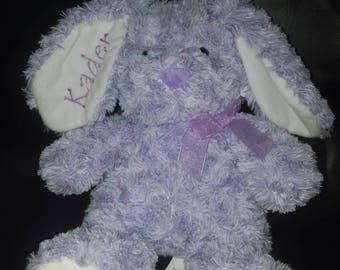 Embroidered purple bunny kader