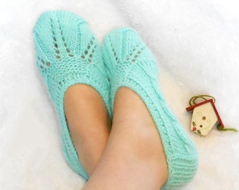 women slippers, knit socks, wool socks women, winter fashion