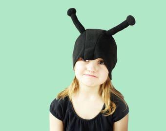 Kids costume, kids bug costume hat, bug feeler hat, ladybyg butterfly hat, toddler pretend play, toddler costume, kids Halloween costume