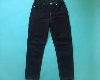 Black Vintage Calvin Klein Jeans