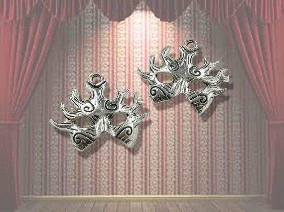 Mask Charms, 4 pcs  **FREE U.S. SHIPPING**