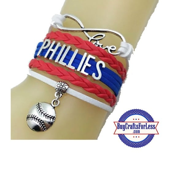 PHILADELPHIA Leather Bracelet-U Choose CHARM +Discounts & FREE Shipping*