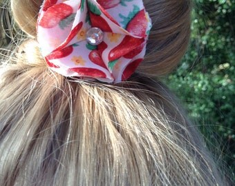 Berry Bloom Hair Clip