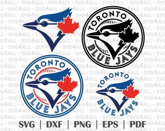 toronto blue jays Svg Files, toronto blue jays Png, toronto blue jays PDF, toronto blue jays EPS toronto blue jays DXF Instant Download