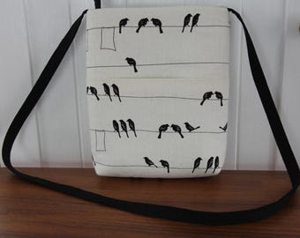 Cute  Cross Body /Blackbirds Shoulder Bag/ Messenger Bag/Handbag/Ready to ship