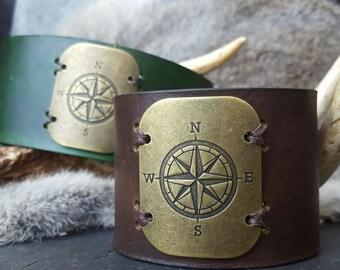 Explorer Compass Cuff