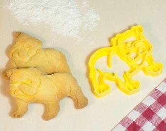 Cookie cutter cookie cutter cookie cutter dog Bulldog-Bulldog-dog
