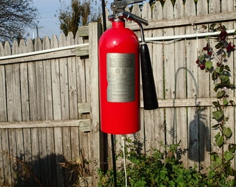 Fire Extinguisher Garden Wind Chime/Bell