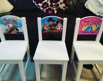 Customised children's chairs
