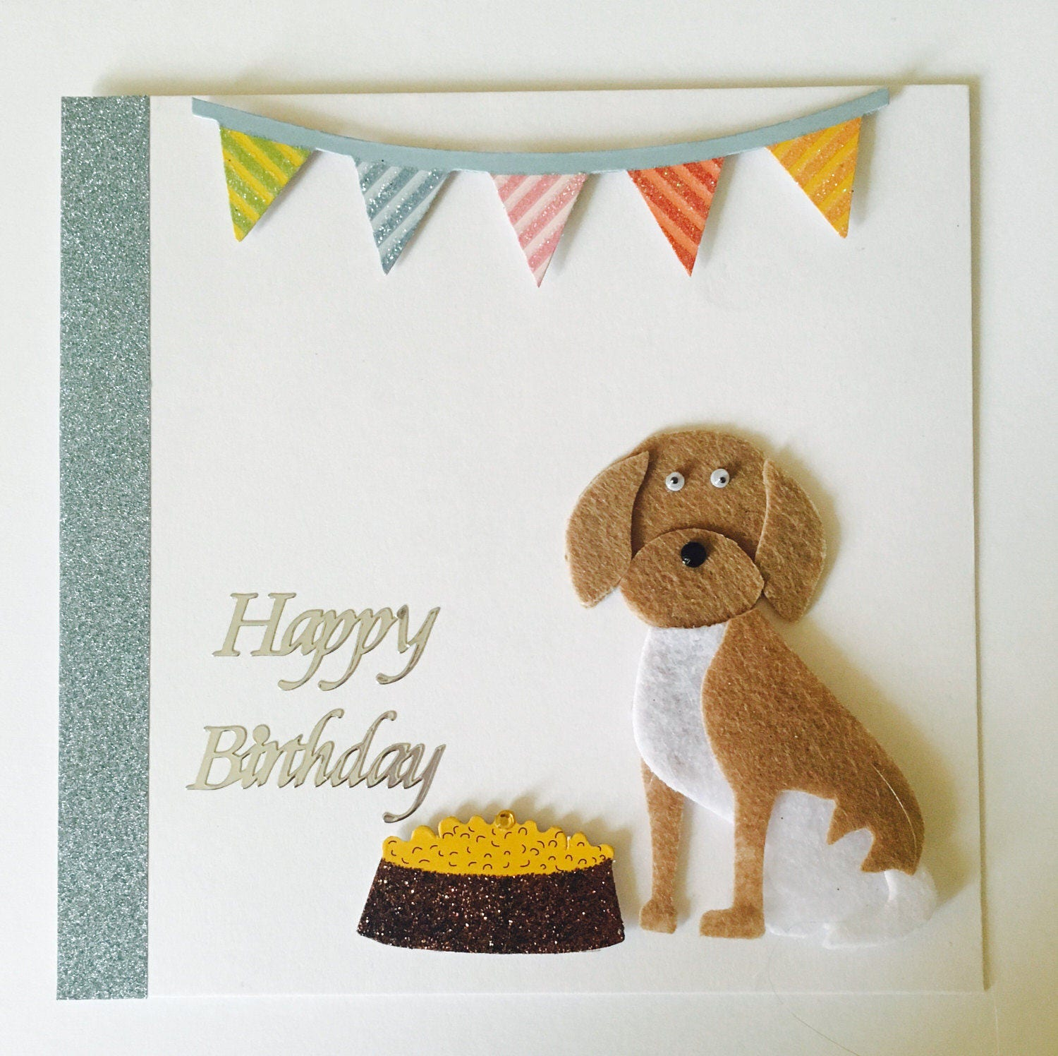 Happy birthday card barking mad dog card puppy love animal themed happy birthday card barking mad dog card puppy love animal themed cards bookmarktalkfo Image collections