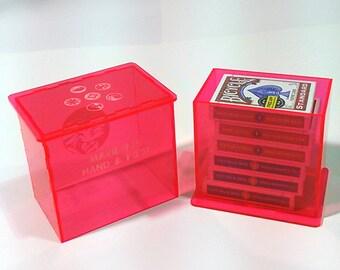 Six deck gaming box Acrylic - Customized Storage Game Box
