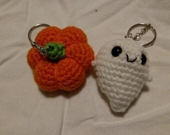 Holiday Amigurumi Keychains