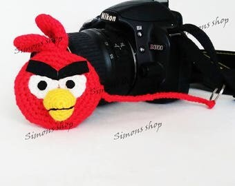 Lens cover for camera lens Photography Accessories Photographer Gifts camera lens cap lens cap leash photo accessories angry Birds