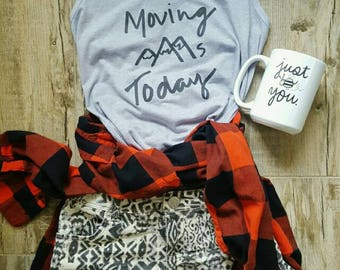 Moving Mountains Today- women's printed tank
