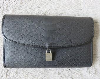 Money Wallet - Card Holder - ID Cards - Black Leather Wallet - Brand Francinel